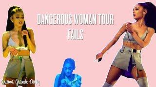 Video Ariana Grande - ALL THE FAILS Dangerous Woman Tour MP3, 3GP, MP4, WEBM, AVI, FLV Desember 2018