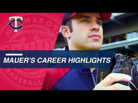 Video: A look at Twins legend Joe Mauer's career highlights