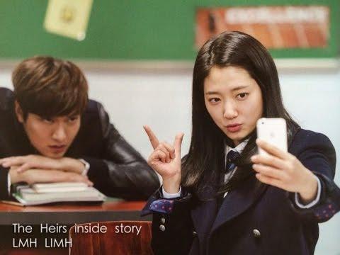 The heirs Lee min and park shin hye funny behind scene, Park shin hye with min ho sweet (видео)