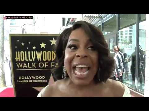 Niecy Nash Walk of Fame Ceremony