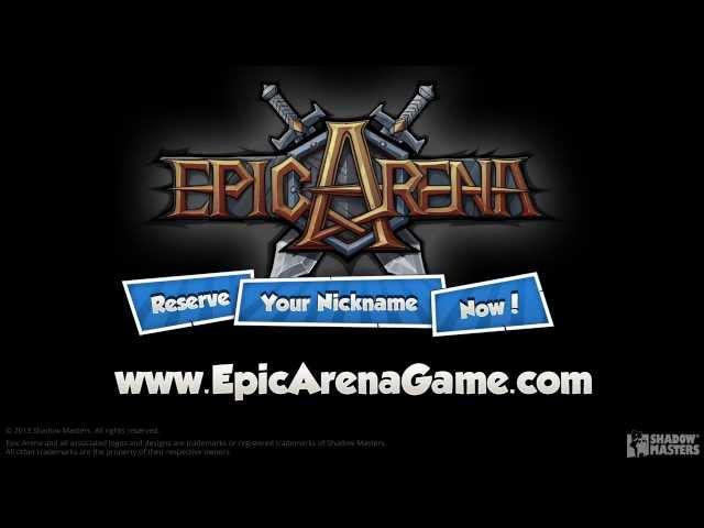 Epic Arena Teaser Trailer
