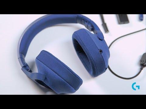 Słuchawkidla graczy LOGITECH G433 Czarny 981-000668