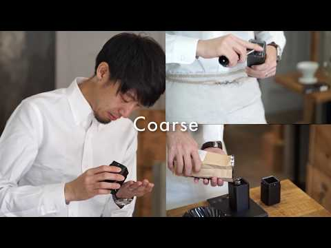 [HARIO]V60 Dripper Kasuya Modell_how to brew[KDC-02-B]