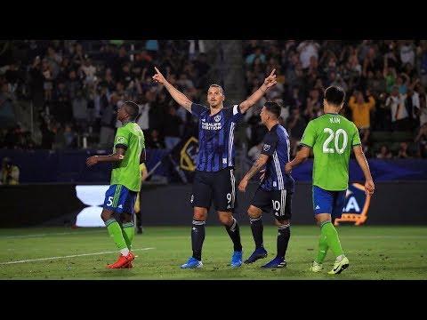 Video: GOAL: Zlatan Ibrahimovic scores penalty vs. Seattle Sounders FC