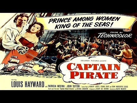CAPTAIN PIRATE 1952 - LOUIS HAYWARD - HD REMASTERED