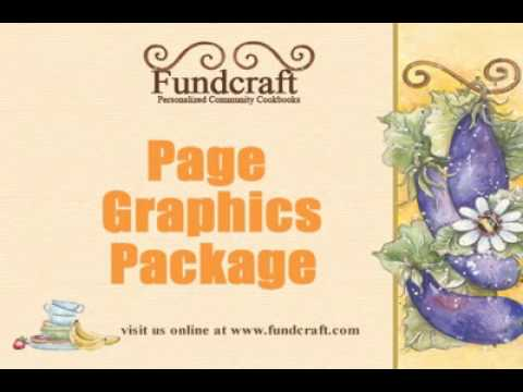 School Fundraising – Page Graphics For Your Cookbooks