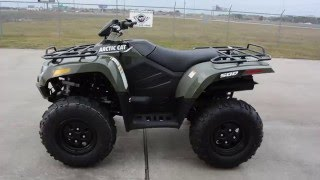 3. $6,599:  2016 Arctic Cat 500 4X4  Green Overview and Review