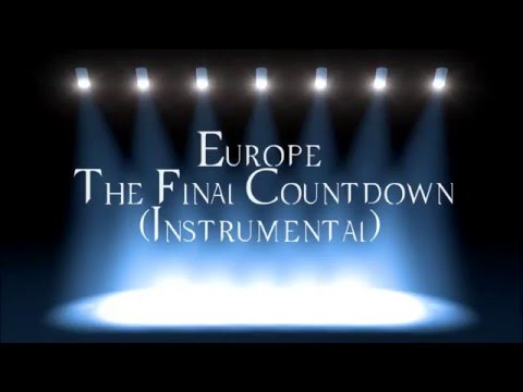 Europe   The Final Countdown Instrumental