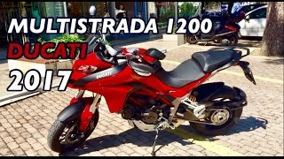 4. 2017 Ducati Multistrada 1200 Review