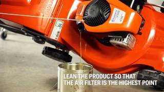 8. How to change oil in your Husqvarna lawnmower