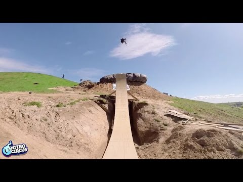 BMX Rider Jed Mildon Lands Quadruple Backflip