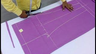 Women Pant | Ladies Pajama Pant Cutting and Stitching