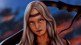 Una interpretación personal de la protagonista de canción de hielo y fuego representada en un Speedart personal. Daenerys de...