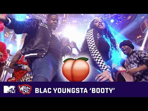 Blac Youngsta Gets The Building Jumpin' W/ 'BOOTY' 🍑 (Live Performance) 🎶 | Wild 'N Out | MTV