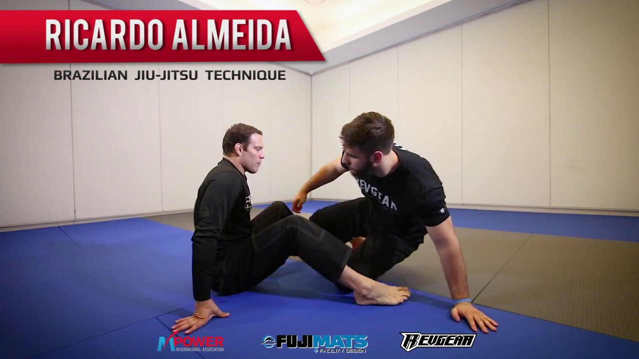 Ricardo Almeida Teaches the Arm-In Guillotine