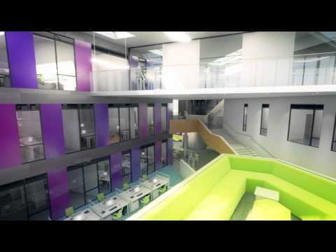 The Oldham Academy North New Build 2013 Royton.wmv