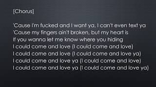 ZAYN - Fingers (Lyrics)