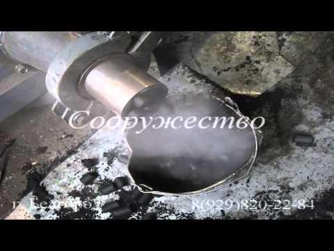 Пресс ПШ 2000 для брикетирования угля и различных сыпучих материалов