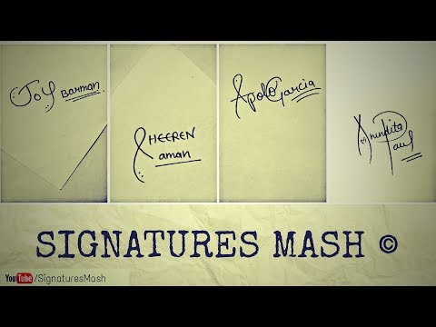 Signatures For Subscribers || Female Version [Part 2]