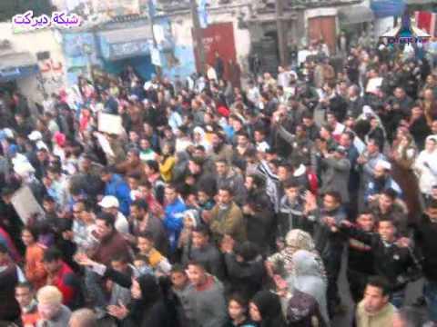 فوسفاط و 2 بحور في مسيرة سيدي مومن 08 01 2012