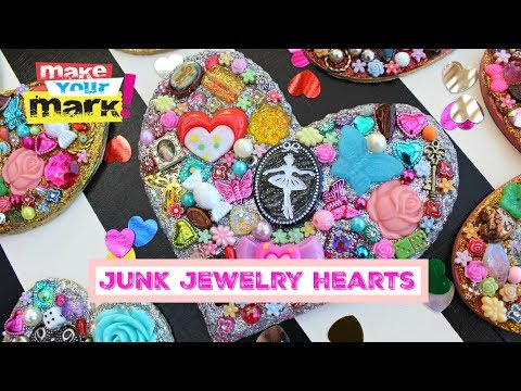 Junk Jewelry Hearts