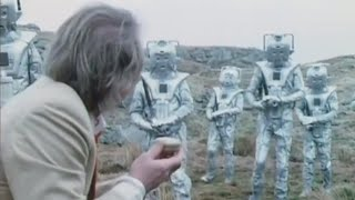 Cybermen prepare timelord interrogation, and The Master and The Doctor are forced to work together in this high action clip from classic Doctor Who episode, ...