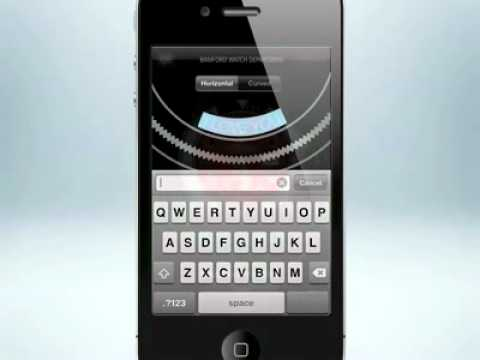 Video | Bamford Watch Department iPhone App Preview