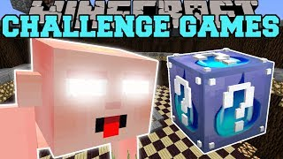 Minecraft: BIG BABY CHALLENGE GAMES - Lucky Block Mod - Modded Mini-Game