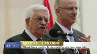 Khalil Jahshan Speaks with CGTN on the Abbas visit to the US