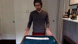 A new presentation for a classic trick. I've been playing around with this format to great reactions so far! Some thoughts: I always...