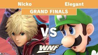 WNF 1.4 - Nicko (Shulk) vs Elegant (Luigi) Grand Finals - Smash Ultimate