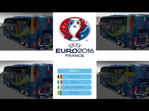 Rewind Bus Marcopolo G7 1600LD Group E Teams Official Buses
