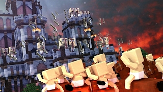 Minecraft | Who's Your Daddy? MEDIEVAL CASTLE RAID! (Baby Castle Wars)