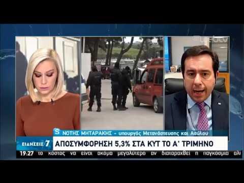 Ν. Μηταράκης: Αναστρέψαμε την τάση συμφόρησης των νησιών | 03/04/2020 | ΕΡΤ