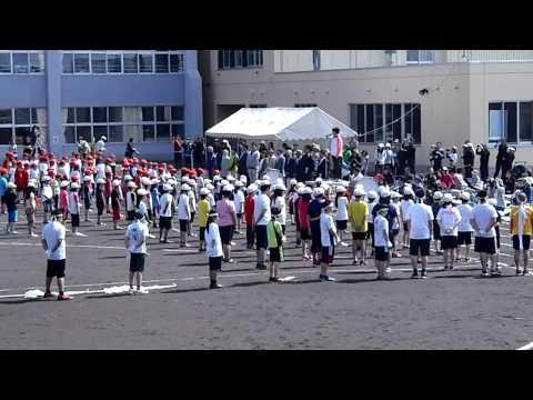 浦河小学校運動会 開会式