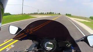 8. Riding a 2004 Kawasaki Ninja ZX6R #4
