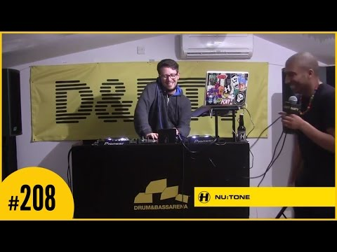 D&BTV Live #208 Hospital Records Takeover - NuTone (видео)