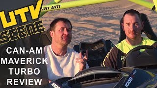 9. 2015 Can-Am Maverick X ds Turbo Ride Review