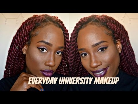 Everyday University Makeup Look (видео)