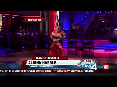 Former Packer Ahman Green, dance expert review Driver's classical dance on DWTS