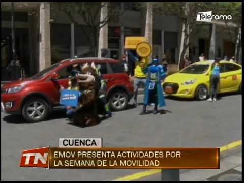 EMOV presenta actividades por la semana de la movilidad