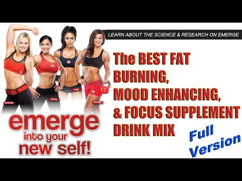 EMERGE – Body Slenderizing Drink Mix by Max Muscle Sports Nutrition