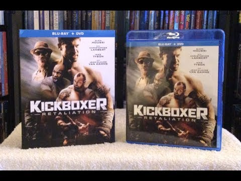 Kickboxer: Retaliation BLU RAY REVIEW + Unboxing - Van Damme, Mike Tyson