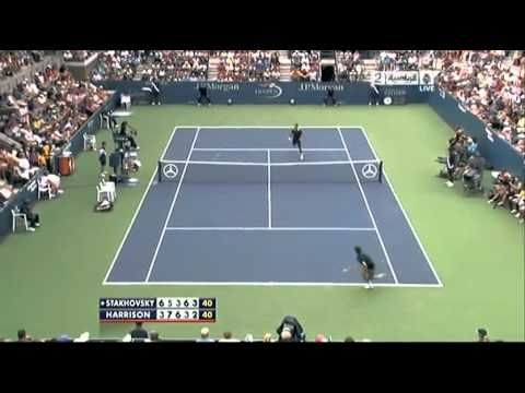 Stakhovsky vs. Harrison US Open 2010