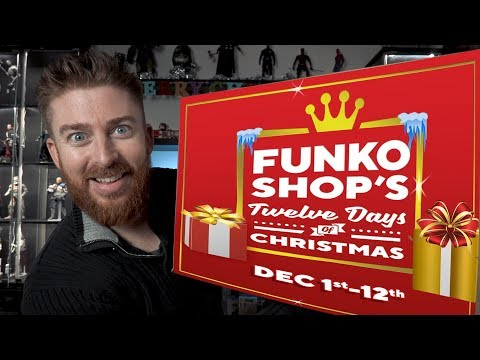 Unboxing The Entire Funko 12 Days of Christmas Bundle - Christmas Giveaways Day 4