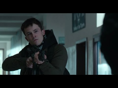 13 Reasons Why | Clay Shoots Himself Scene | Season 4