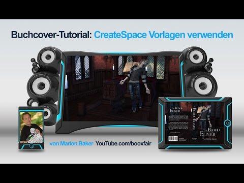 Buchcover mit CreateSpace Vorlagen & Styles für Photoshop erstellen
