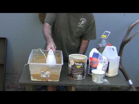 Testa's Taxidermy Tips-Making Glue Part 2