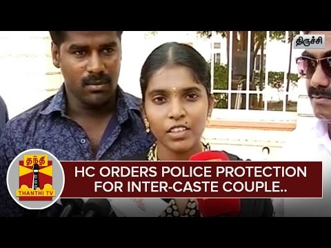 High-Court-orders-Police-Protection-for-Inter-Caste-Couple--Thanthi-TV