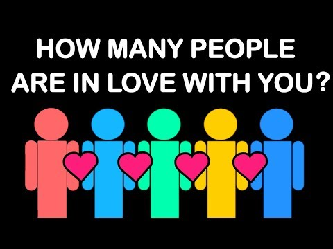 HOW MANY PEOPLE ARE SECRETLY IN LOVE WITH YOU? Love Personality Test  Mister Test